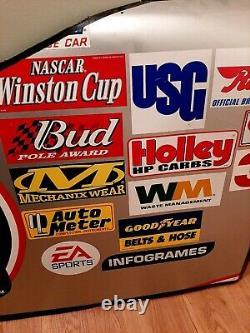 Jimmie Johnson Autographed Race Used 2003 Hendrick Lowe's #48 Door Sheet Metal