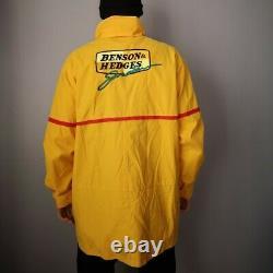 Jordan F1 Benson & Hedges jacket Large Vintage Nascar F1 Motorsport Racing