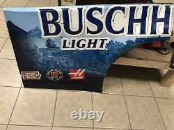Kevin Harvick #4 Buschhhhh Light Nascar Race Used Sheetmetal 2020 Qtr Panel
