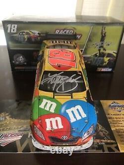 Kyle Busch 2008 Talladega Race Win autographed