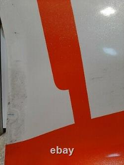 Kyle Busch 2020 Michigan Race Used M&M's #18 Toyota Sheet Metal Joe Gibbs Racing