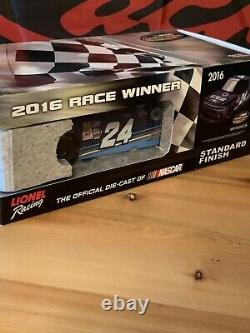 Kyle Larson 1/24 2016 #24 Dc Solar Eldora Dirt Raced Truck Win Silverado