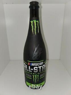 Kyle Larson 2019 Nascar Monster Energy Allstar Race Signed Win Bottle