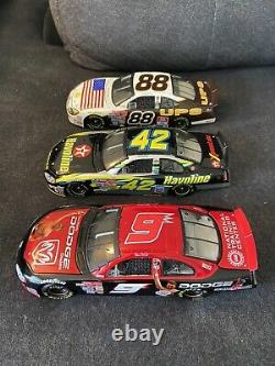 Lot Of 13 Nascar 1/24 Diecast Racing Champions All With Box Dodge Ford 2001 2003