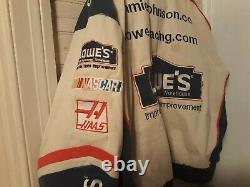 Lowes Racing 5 Time Champ Jimmie Johnson #48 Coat Men. Used