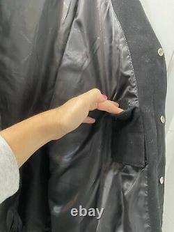 M&M's Black Button-up NASCAR Racing Jacket JH Design Size XL