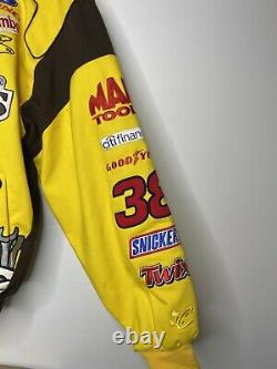 M&Ms Nascar Jacket Size Large (L) Robert Yates 38 Vintage Racing Logo