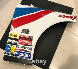 Mark Martin Race Used Sheet Metal With Photo NASCAR #6 Valvoline Car
