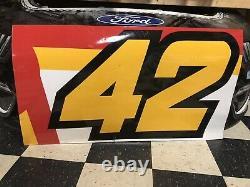 Matt Kenseth McDonalds Darlington Nascar Race Used Sheetmetal Ganassi #42 Door