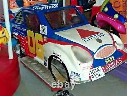 NASCAR #06 Citgo Race Car Coin Operated Kiddie Ride By Falgas WORKS Ride #152