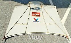 NASCAR 1991 Sheet Metal Hood Mark Martin Folgers RACE USED Signed Advertising