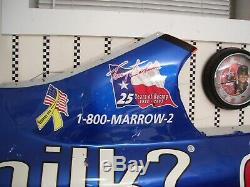NASCAR #5 Terry Labonte Race Used Sheet Metal From 2003 Got Milk Campaign