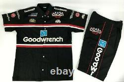 NASCAR GM Goodwrench Authentic Vintage Racing Pit Crew Shirt Pants Team Issued