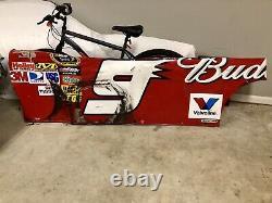 NASCAR Race Used Sheet Metal Kasey Kahne #9 Budweiser Sheetmetal Side