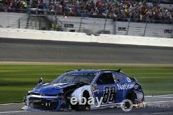 NASCAR Race Used Sheetmetal Alex Bowman #88 2018 DAYTONA 500 POLE NOSE Metal