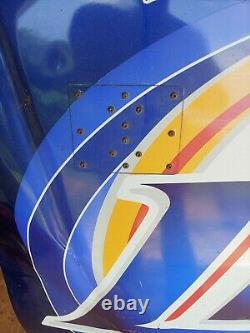 NASCAR Rusty Wallace Miller Lite sheet metal Hood 2004 race used sign autograph