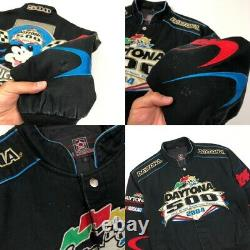 Nascar Jacket Size Small Mickey Disney Vintage USA Racing JH Designs
