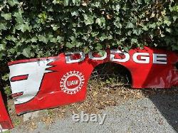 Nascar race used sheetmetal Hood, Nose, Side Panel, Trunk, Back Panel