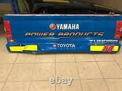 Natalie Decker #54 N29 Yamaha Nascar Race Used Sheetmetal Rear Bumper