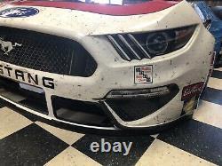 Paul Menard Wood Brothers 21 Ford Mustang Nascar Race Used Sheetmetal Nose