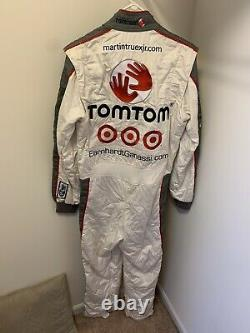 RARE Martin Truex Jr TomTom Race Used Pocono 500 2009 Firesuit