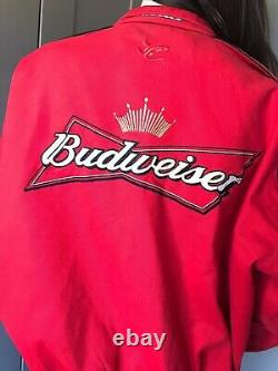 Rare! 90s Chase Authentics Patch Embriodered NASCAR Motor Sports Racing Jacket