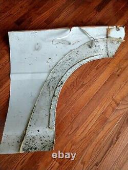 Rare Autographed Race Used Richard Petty Quarter Panel Fender Nascar Sheetmetal
