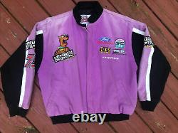 Rare Vintage OG 90s Cartoon Network Scooby Doo Racing Jacket NASCAR Racing Vtg