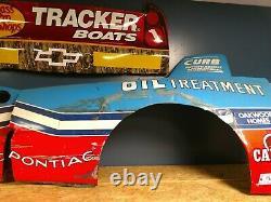 Richard Petty STP NASCAR Race Used Sheet Metal Pontiac