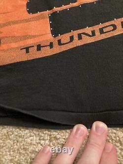 Ricky Rudd Tide Racing Team NASCAR Vintage Black All Over Print Shirt XL
