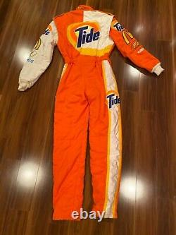 Scott Pruett Race Worn Used Firesuit Drivers suit Tide NASCAR Indy 500 Rolex 24