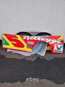 Terry Labonte #5 Kellogg Autographed Nascar Race Used Sheetmetal Partial Side