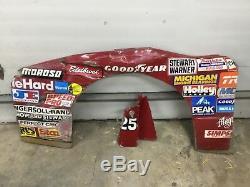 Tim Richmond #25 Folgers NASCAR race used fender quarter extension sheetmetal