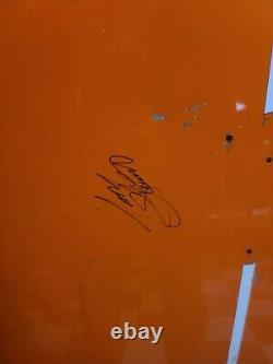 Tony Stewart Home Depot JGR CHEVROLET NASCAR RACE USED SHEETMETAL HOOD AUTO'D