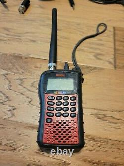 Uniden SC230 NASCAR Scanner with Racing Electronics and TrackScan Headsets