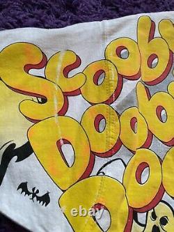 VTG 90s Nascar Cartoon Network Scooby Doo Racing T Shirt All Over Print NM