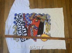 Vintage 1998 Cartoon Network Wacky Racing Nascar T-Shirt Lake Speed Size Large