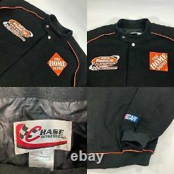 Vintage Black NASCAR Racing Jacket (L)
