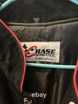 Vintage Chase Authentics Rusty Wallace Nascar Miller Lite Racing Jacket XL