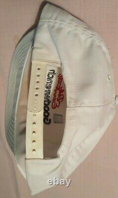 Vintage DALE EARNHARDT SR. #3 AUTOGRAPHED NASCAR Goodwrench GM Racing Hat Cap