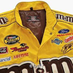 Vintage Jeff Hamilton M&M Racing NASCAR Jacket. Retro Madison Beer JH Design 90s