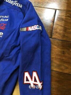 Vintage Kyle Petty #44 Hot Wheels Racing Jacket Mens Large NASCAR Jeff Hamilton
