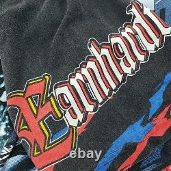 Vintage NASCAR Chase Dale Earnhardt All Over Print Goodwrench Racing T Shirt XL
