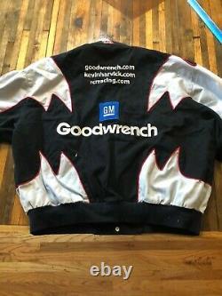 Vintage NASCAR Jeff Hamilton Kevin Harvick GOODWRENCH Racing Jacket Sz XXL
