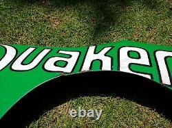 Vintage NASCAR Race-Used Sheetmetal Brett Bodine Quaker State Quarter Panel