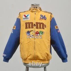 Vintage Nascar M&M's Ken Schrader Chase Authentics Racing Jacket Size L