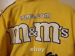 Vintage Nascar Racing Elliott Sadler M&M UPS Size XL Winter Jacket #38 X Large