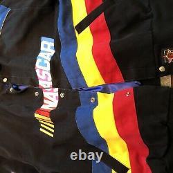 Vintage Nascar Racing Jacket 2XL Rare Black