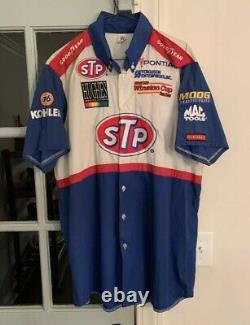 Vintage Richard Petty Pit Crew Shirt Race Used RARE