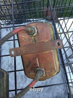 Vintage Stewart Warner Duplex Gauge Set 32 Ford SCTA TROG Wood Boat 33 34